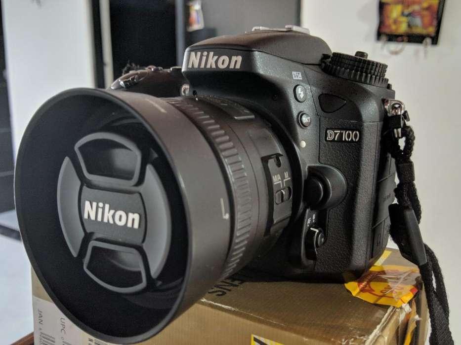 Vendo Nikon D7100 -poco Uso-