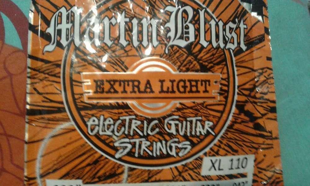 Cuerdas de Guitarra Martin Blust Xl110