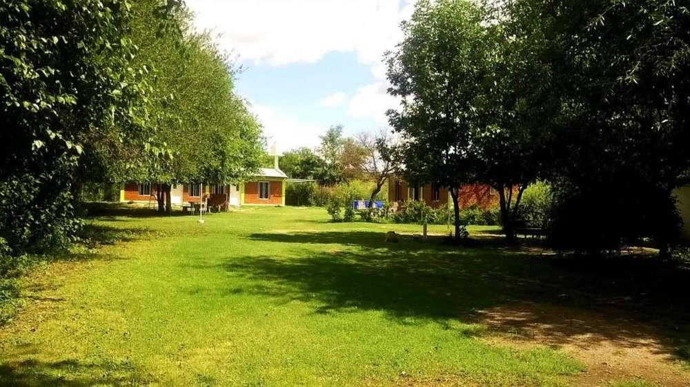 uf31 - Cabaña para 2 a 6 personas con pileta y cochera en Juana Koslay