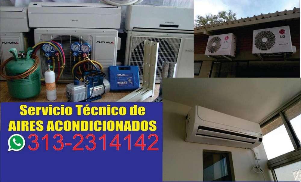 Servicio tecnico instalación aires acondicionados mantenimiento y reparación LLAMA YA!!