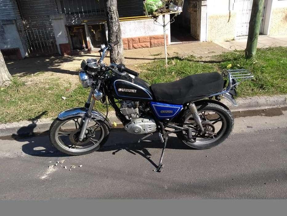 Suzuki Gn125 2008