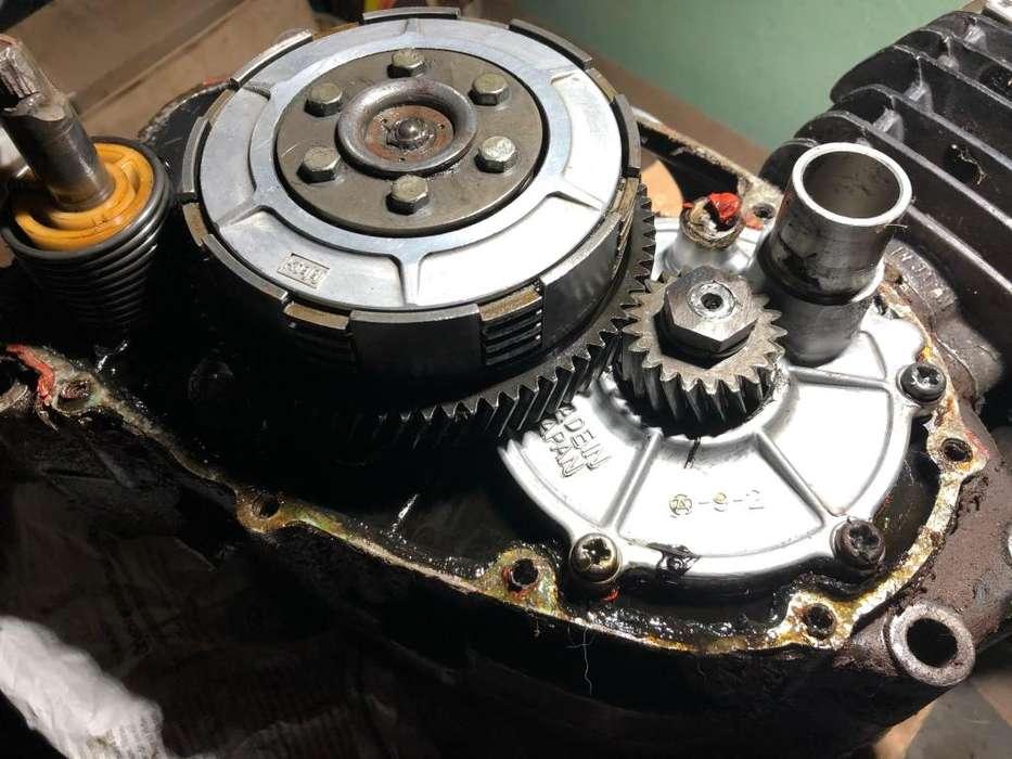 Repuestos motor kawasaki ke 100 tapa cilindro piston embrague caja cigueñal biela valvula admision