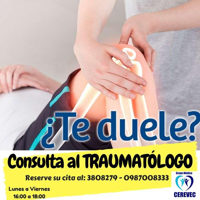 TRAUMATÓLOGO - VALLE DE LOS CHILLOS 0987008333