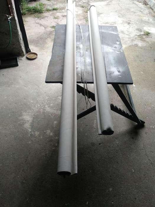 Vendo cortina roller sun screen de 2.25 de ancho ,x ,2.20m alto.