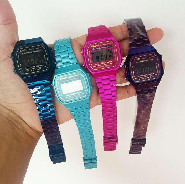 Relojes Casio Retro para Mujer