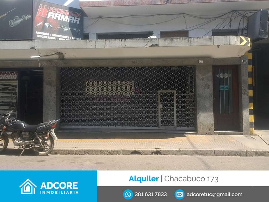 Alquiler Local Chacabuco 173