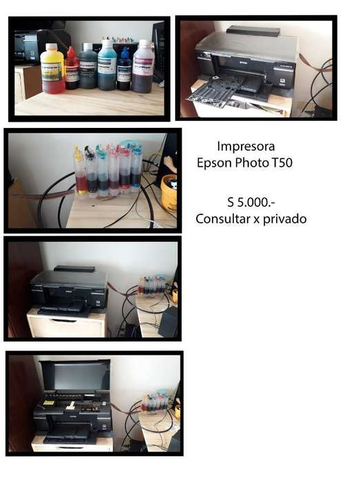 Impresora Photo T50