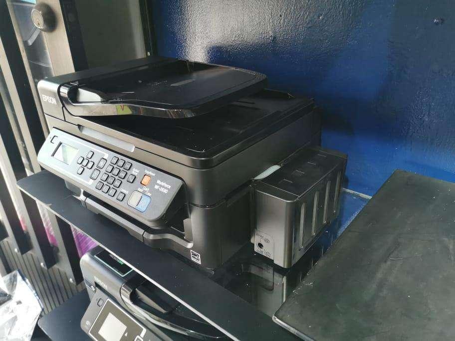 Impresora Epson Multifuncional WF2630 Sistema continuo Lujo