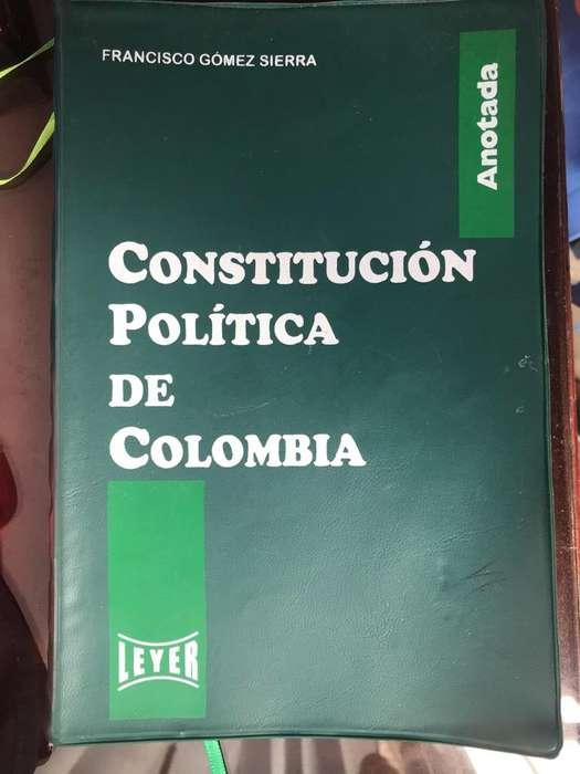 Constitución Política de Colombia Leyer