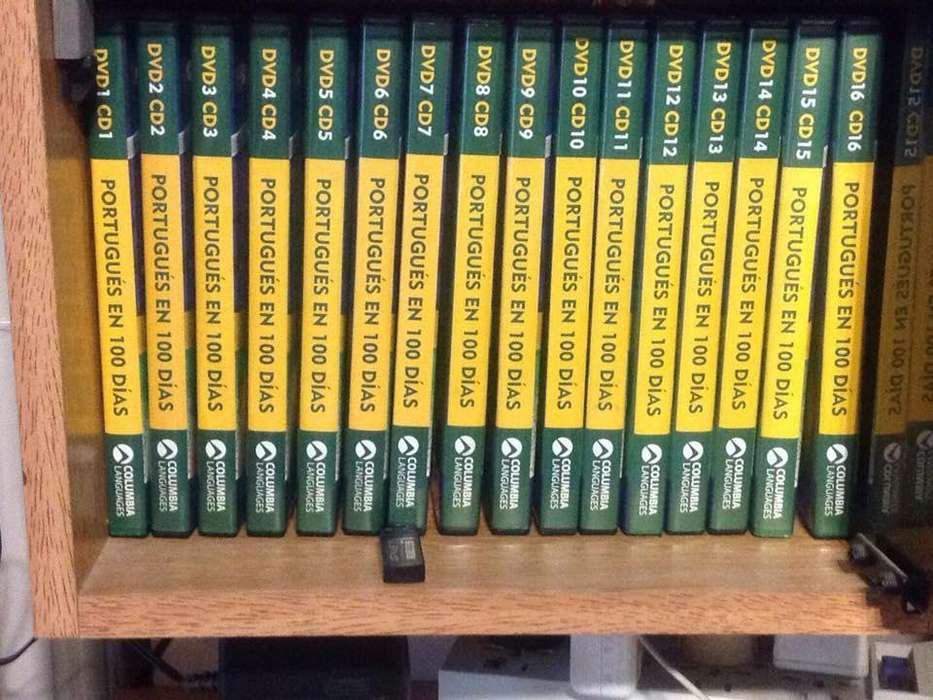 Aprenda Portugues libros cds