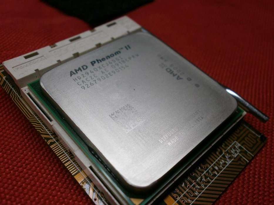 PROCESADOR AMD Phenom II X4 940 Black Edition Deneb QuadCore @3.0 ghz AM2 AM2 CALI