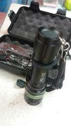 Linterna de Mano Police #2 CEM de 800 metros de Luz.