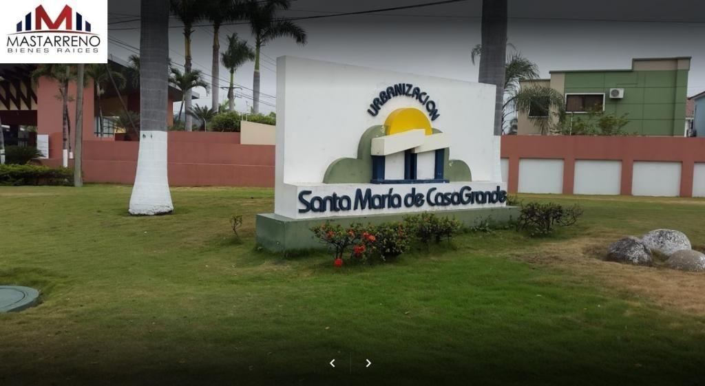 Amplio Terreno de 360 Metros en Urbanizacion Santa Maria de Casa Grande