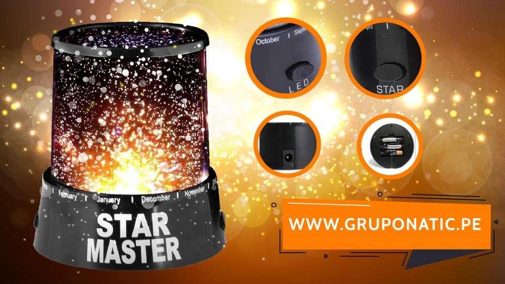 Lámpara proyector de estrellas Star Master Gruponatic San Miguel Surquillo Independencia La Molina 941439370