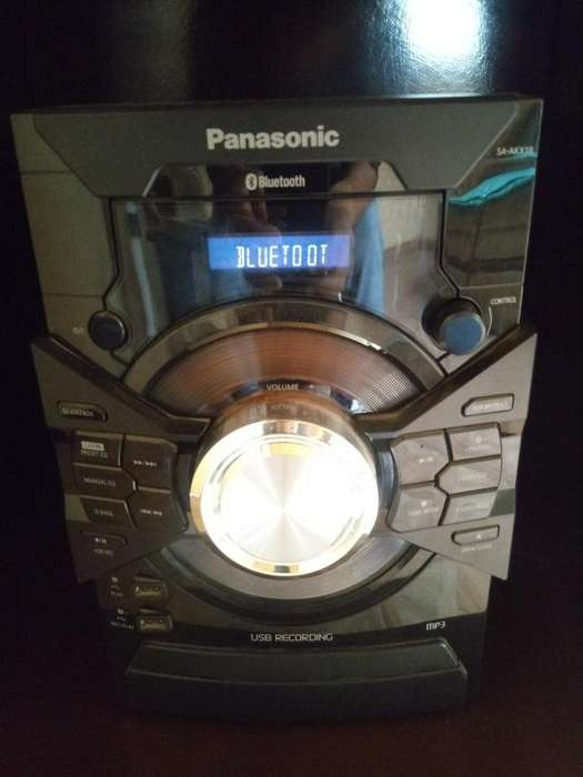 Equipo de Sonio Panasonic