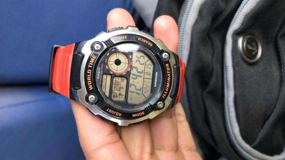 RELOJ <strong>casio</strong>