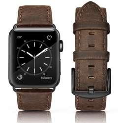 Correa De Cuero Apple Watch 42mm 44mm, Serie 4 3 2 Sport