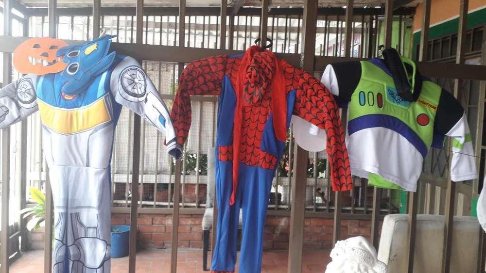 Alquiler de Disfraces para Niños