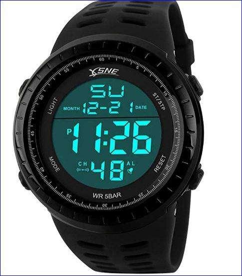 Reloj deportivo estilo militar SNE