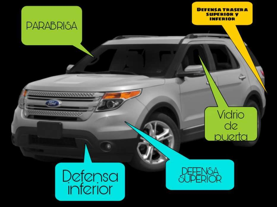 Ford Explorer Defensa Superior Y Inf.mas
