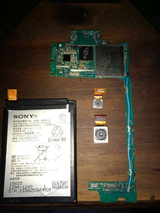 Placa Y Repuestos Sony Z5
