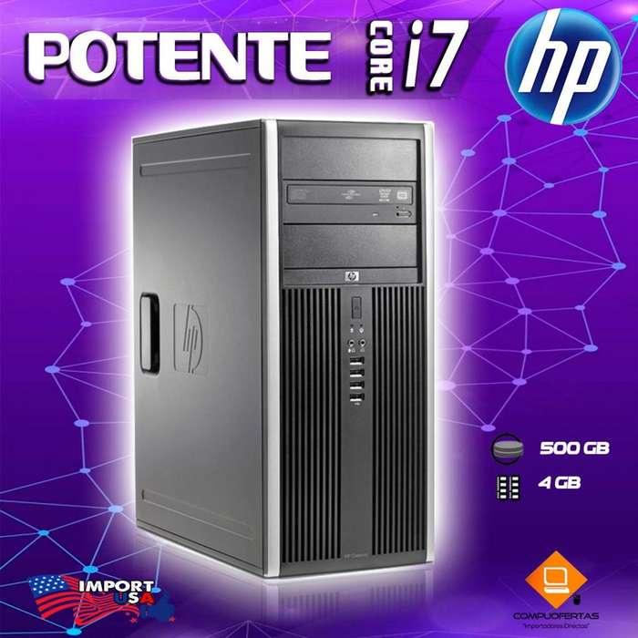 CORE I7 de marca HP ORIGINAL con GARANTIA