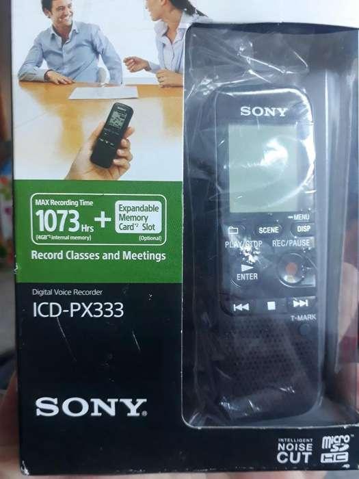 Grabadora Sony Icdpx333 Permuto