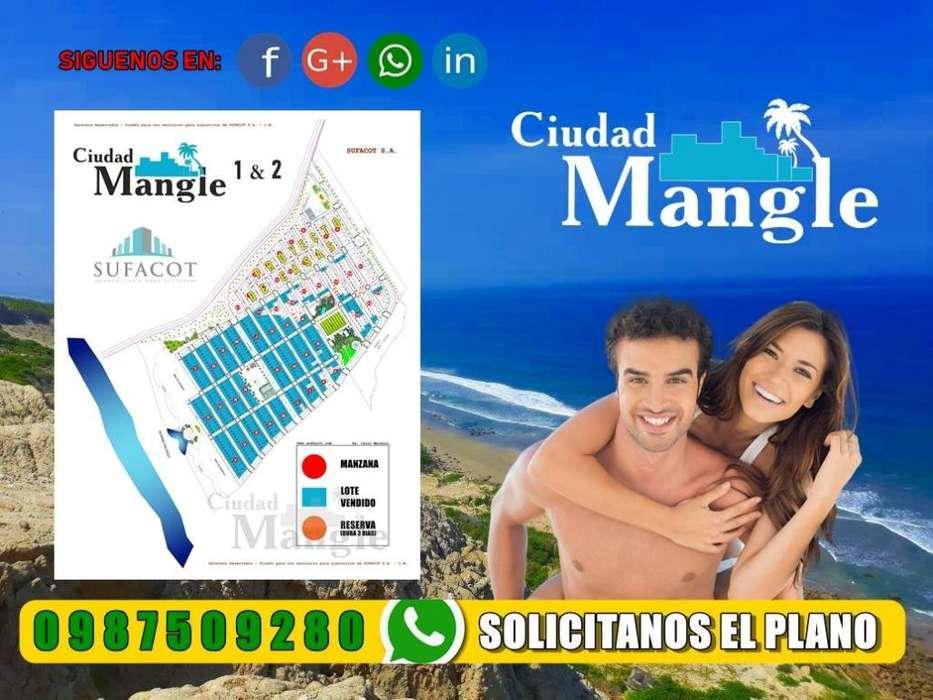 ¡Ultimos Terrenos de 200 M2 En Ciudad Mangle: Piscinas, Duchas, Áreas BBQ Crédito Directo SD2