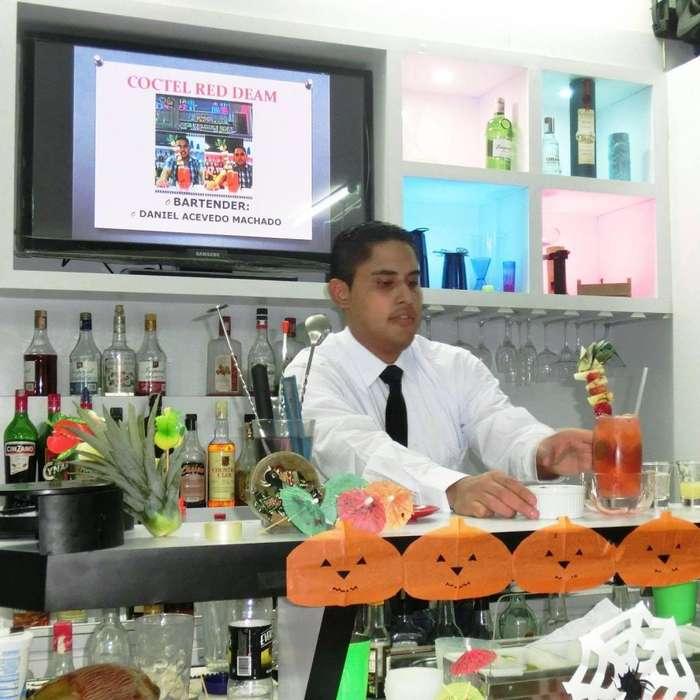 Bartender & Mesero Profesional