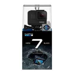Cámara Gopro Hero7 Black Táctil Vídeo 4k, 12mp, Live Stream, Estabilizador, Agua 10m