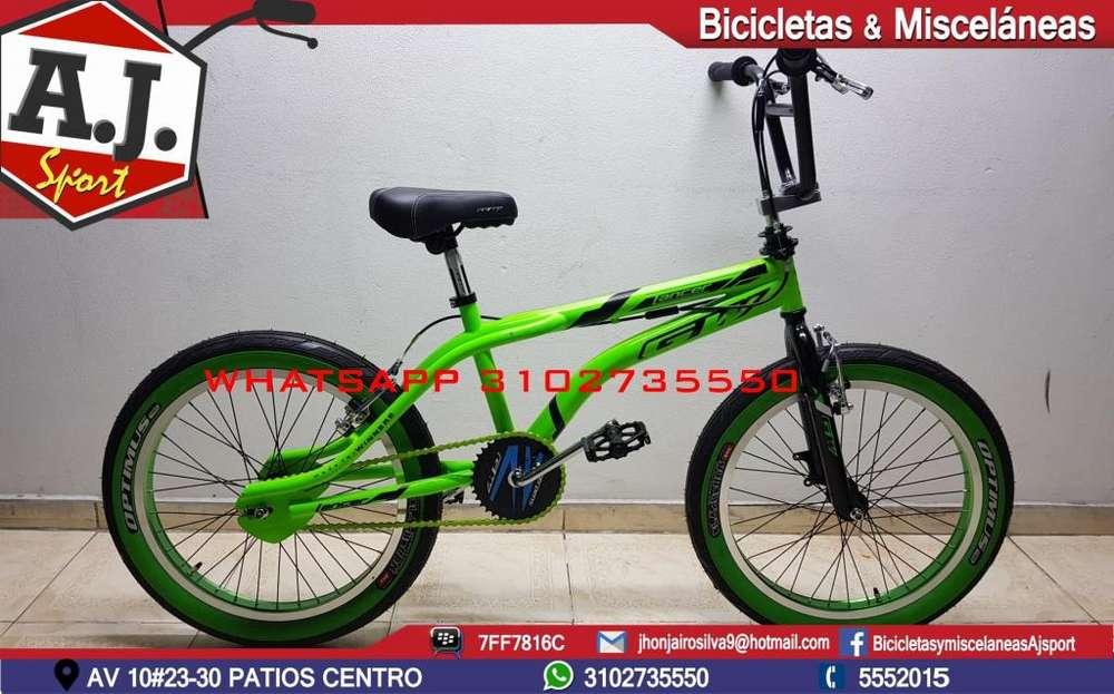 BICICLETA 20 BMX GW LANCER