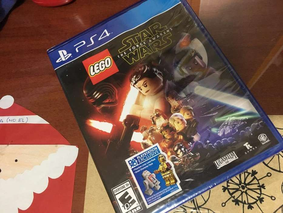 Lego Star Wars Ps4 Nuevo Sellado