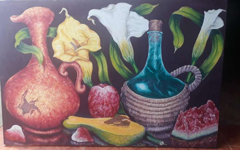 Se Venden 9 Pinturas Al Oleo