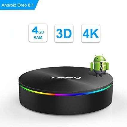 TV Box T95Q Android 8.1 4GB 32GB Amlogic S905X2 Bluetooth 4.1 WiFi 2.4 / 5.0G Quad Core 4K