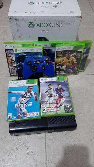 Vendo Xbox 360 en Exelente Estado