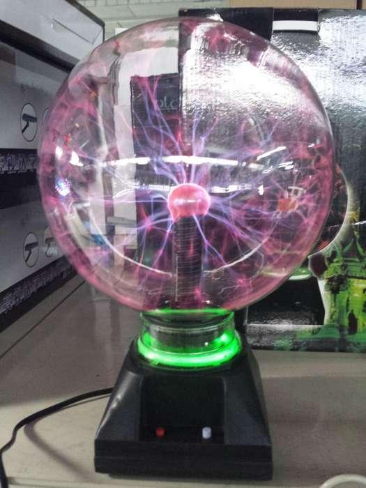 Vendo Lámpara de Plasma Esfera Luz Tesla