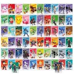 Tarjetas Amiibo Switch Wii U 3 DS