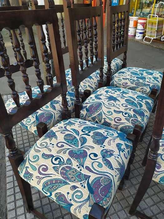 Bellas <strong>sillas</strong> Restauradas a Nuevo / juego de 4 o de 8