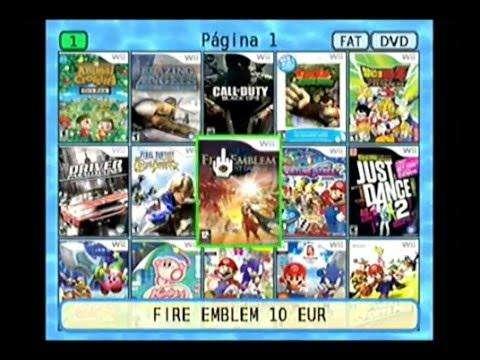 Juegos de nintendo wii y retro para la consola via memoria sd o pendrive usb
