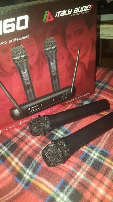 Vendo Microfonos Italy Audio