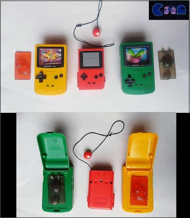 Game boy color, battpoke