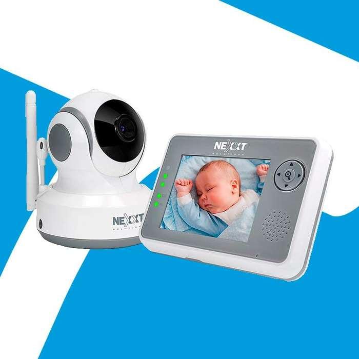 Acp Camara Wifi Monitor Para Bebe Nexxt 2 Años Garantia