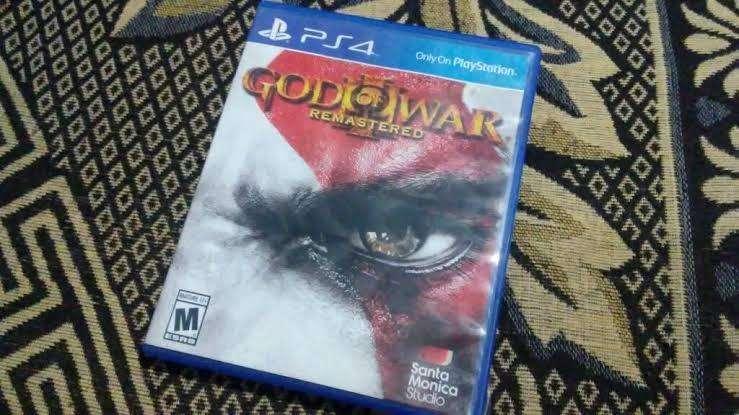 Remato god of war 3 PS4 español