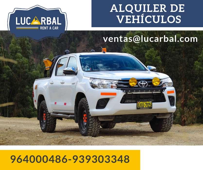 Alquiler de vehículos para empresas mineras: Camionetas / Buses / Camiones / Vans Huancayo