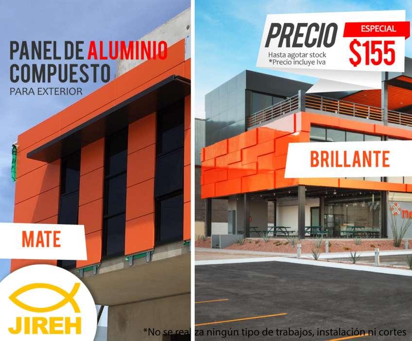 Panel de Aluminio Compuesto para exterior naranja Alucobond, Policarbonato, Acrílico, Cielo raso pvc, fachadas