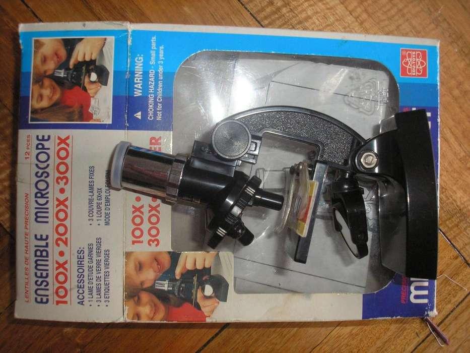 Microscopio juego infantil poco uso