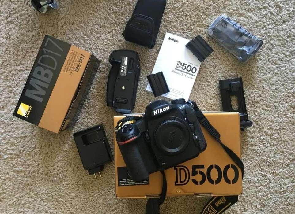 Nikon D 500 Excelente Estado