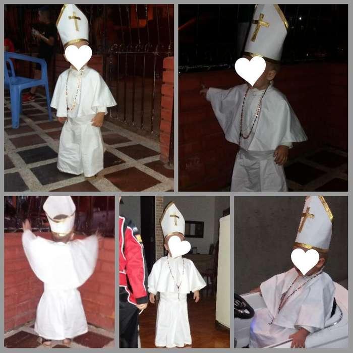 Disfraz de Papa 1-2 Años