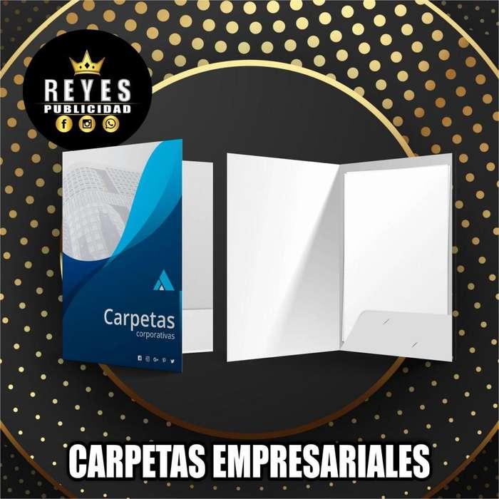 CARPETAS EMPRESARIALES CALI CARPETAS CORPORATIVAS PROPALCOTE CALI PUBLICIDAD IMPRESIONES DISEÑO FULL COLOR MATE