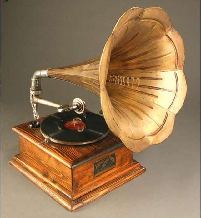 Gramfonos o Victrofonos Hes Msters voice